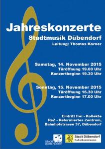 Flyer SMD Jahreskonzert 2015
