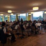 Konzert im Altersheim Dübendorf, September 2018, Stadtmusik Dübendorf